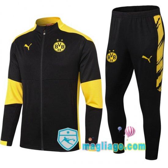 Giacca Da Allenamento Dortmund BVB Nero Giallo 2020/2021 ...
