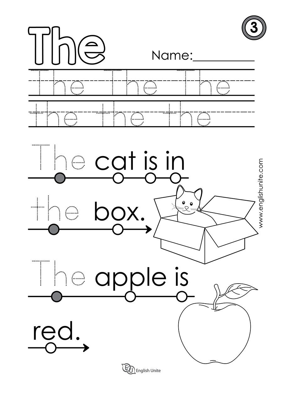 Beginning Reading 5 Of English Unite Kindergarten Reading Worksheets Beginning Reading Teaching Sight Words [ 1277 x 900 Pixel ]