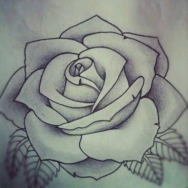 Rosa Desenho Tattoo Pesquisa Google Tattoo Stencils Roses