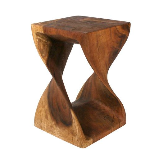 Strata Furniture Twist End Table For the Home