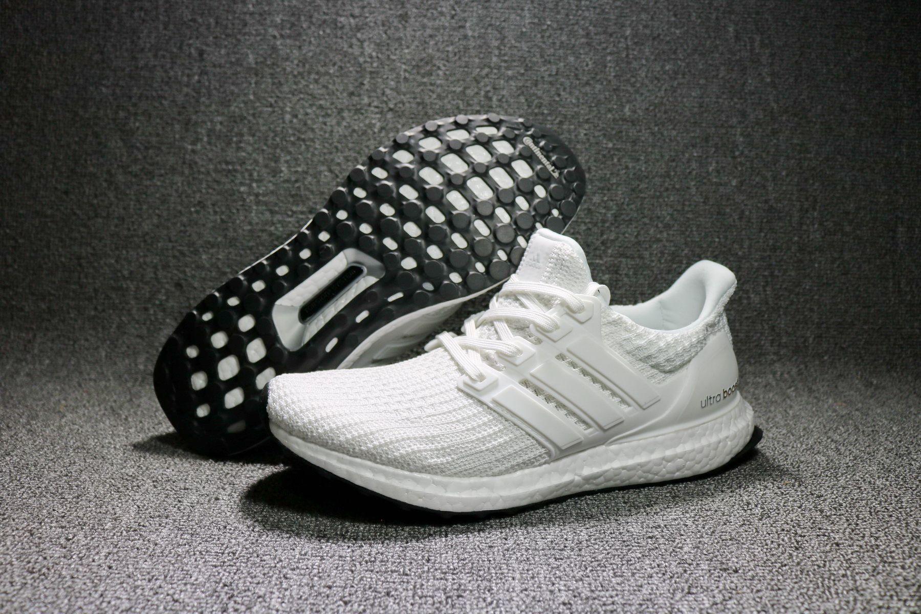 White Ultra Boost 4.0