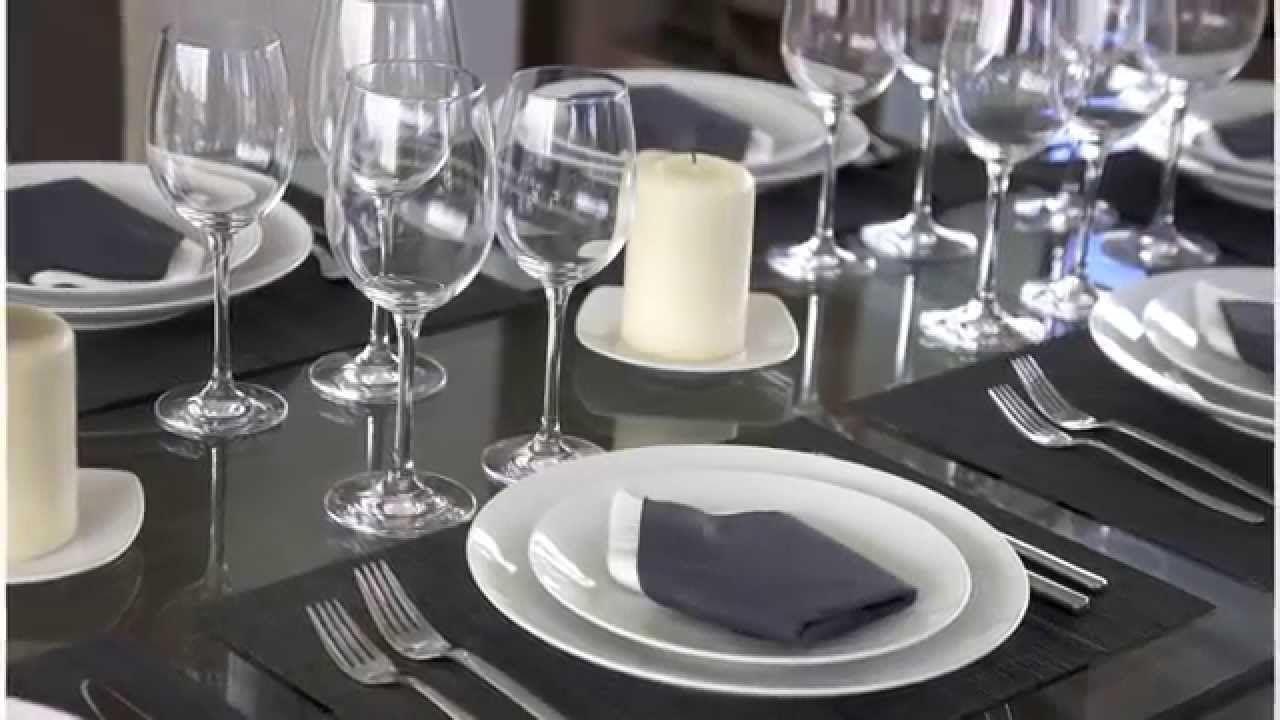 c mo montar una mesa formal protocolos de estilo de vida