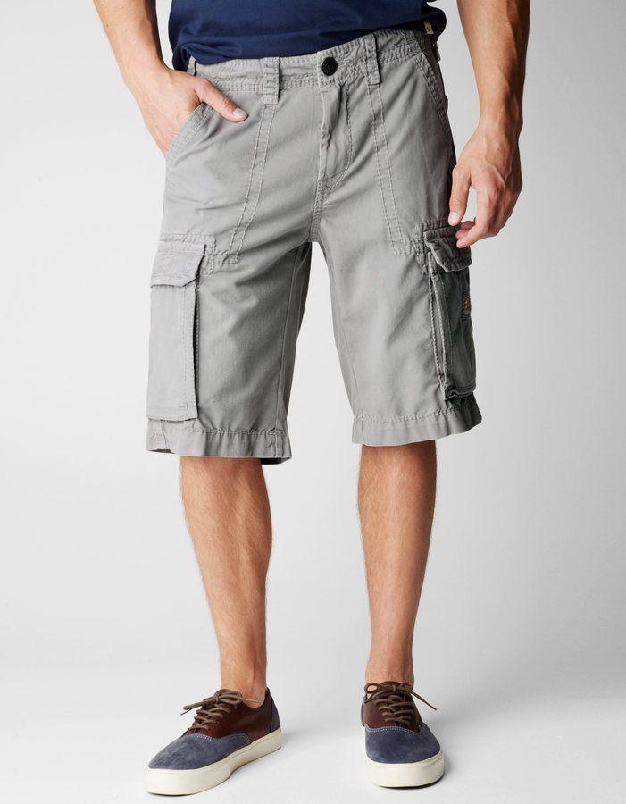 grey cargo shorts mens