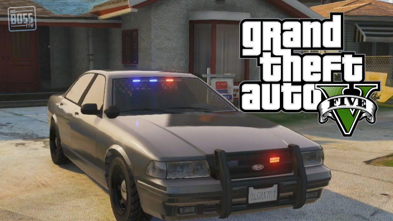 Undercover Cop Car Gta 5