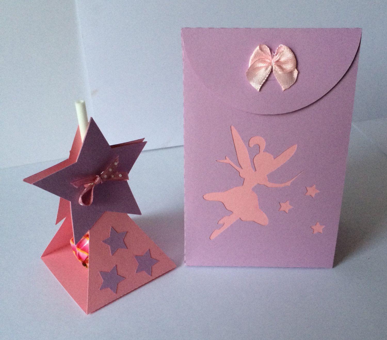Fairy Favour / Favor Box and Lollipop Holder..SVG