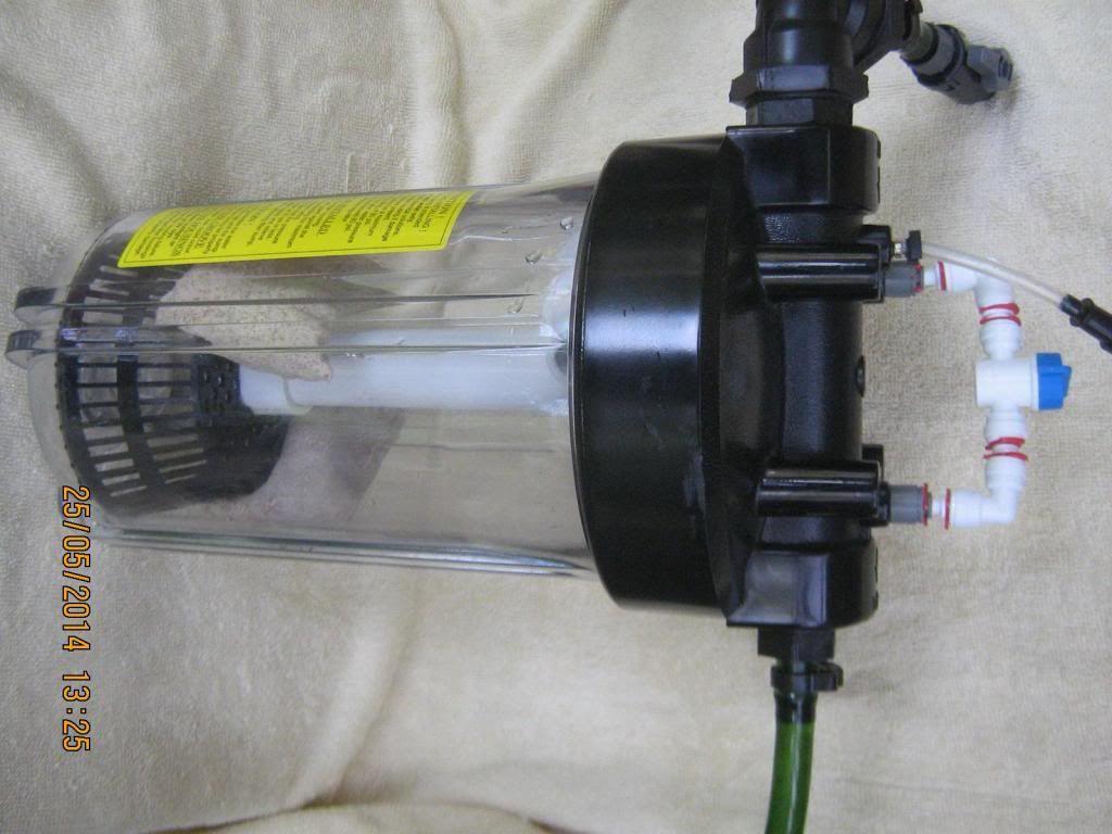 Diy Co2 Reactor Using Water Filter Housing Diy Aquarium Filter Water Filter Housing Diy Aquarium