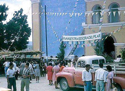 Nuestra Sra. Del Pilar Fiestas de Octubre - 1960's Todos Santos, B.C.S.