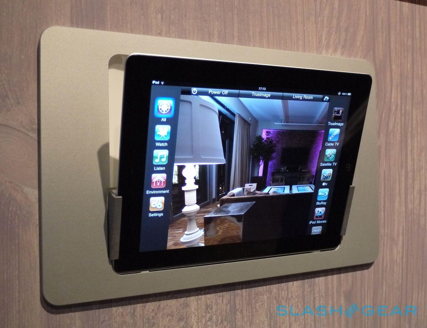 Thinkflood In Wall Ipad Dock 3 Jpg 1400 1078 Wall Tablet Home Technology Smart Home Security