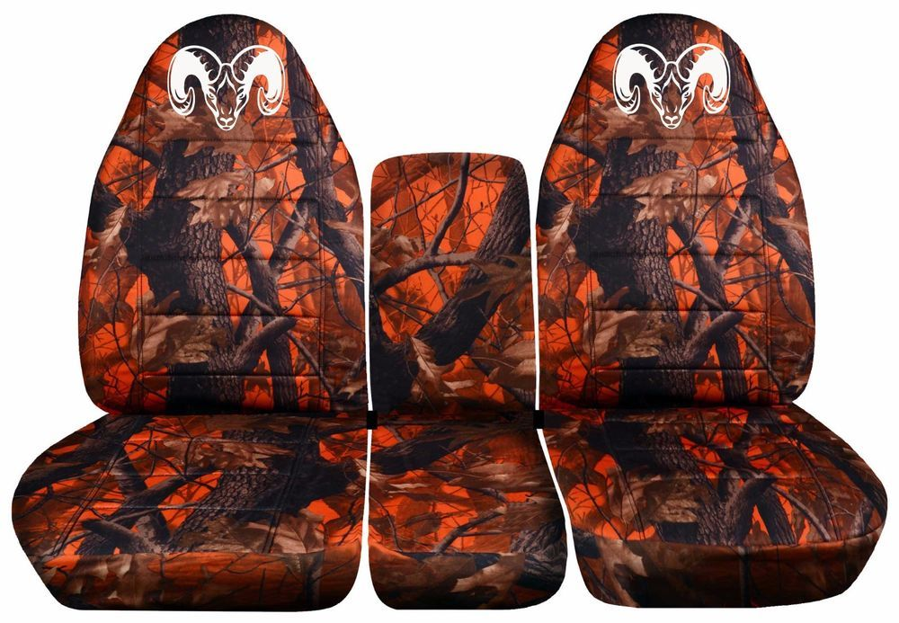 1999 To 2004 Dodge Ram 40 20 40 Dawn Tree Camo Seat Covers