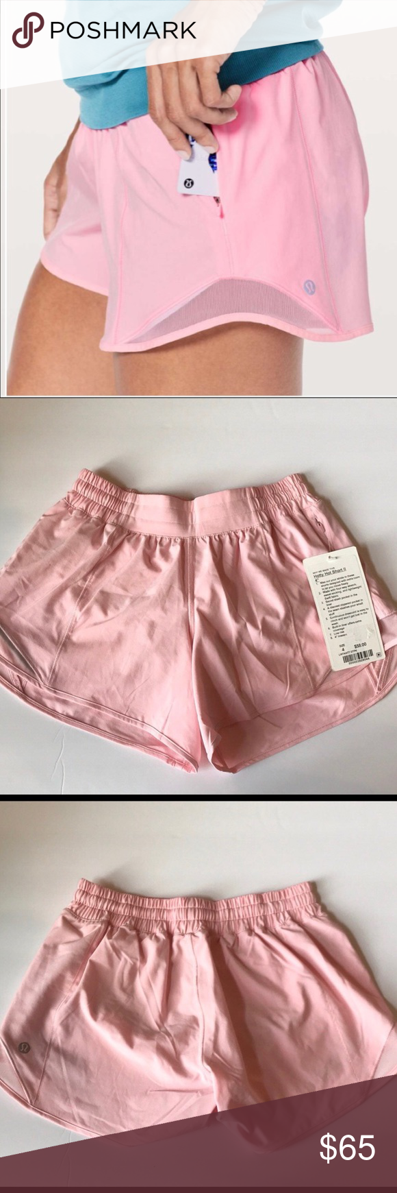 Make An Offer New Miami Pink Hotty Hot Shorts Hot Shorts Gym Shorts Womens Shorts