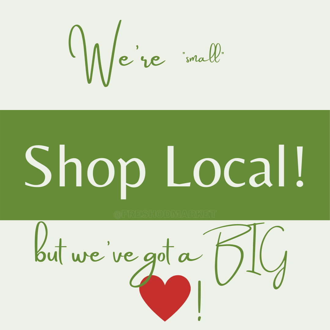 We're small but we've got a BIG heart!⁠ ⁠ Support a local business, support a dream.⁠ ·⁠ ·⁠ ·⁠ ·⁠ ·⁠ ·⁠ ·⁠ #shopsmall #shopsmallbusiness #shopsmallbusinesses #shopsmallsaturday #shopsmallbiz #shopsmalllove #shopsmallandhappy #chicago #chicagogram #chicagofood #chicagophotographer #chicagoblogger #chicagoeats #chicagoartist #chicagoland