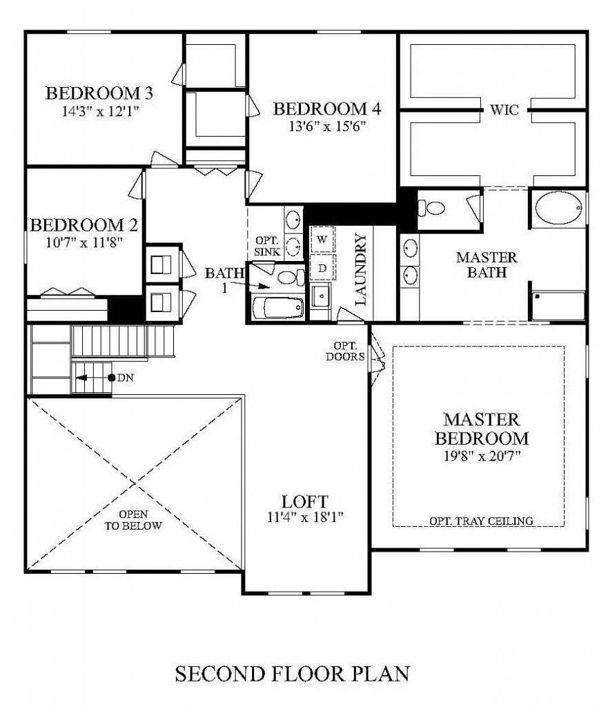 Maronda Homes Floor Plans Floor Plans Custom Floor Plans House