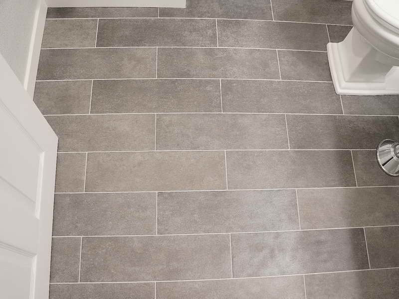 Good Bathroom Floor Tile Gallery   The Best Source Of The Inspirations With Grey  Color