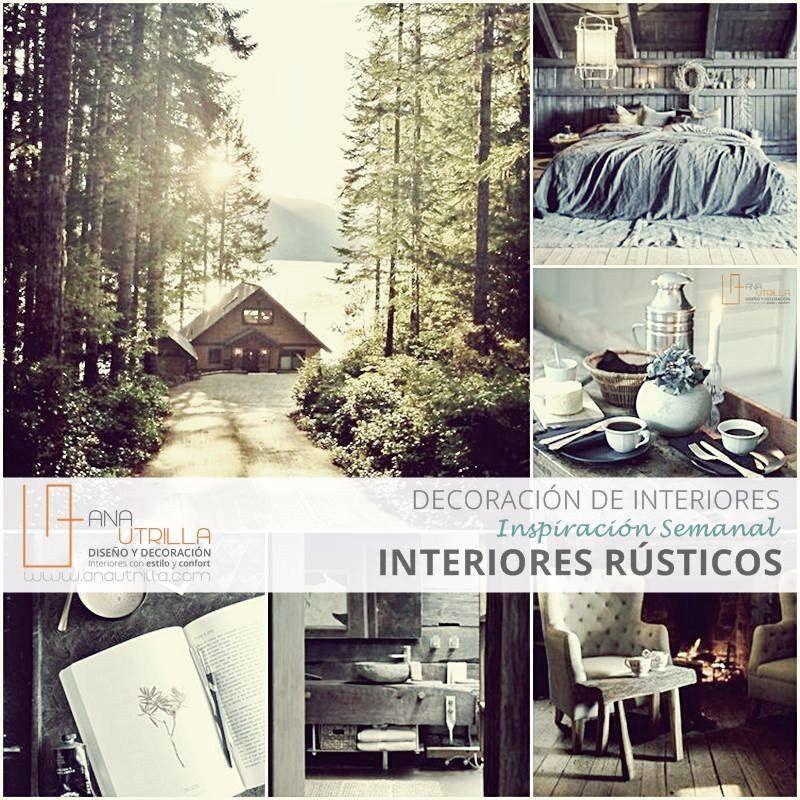 IDEAS PARA DECORAR CON ESTILO RÚSTICO, inspirate para decorar tu casa como si estuvieses en el campo, @Utrillanais www.auantrulla.com