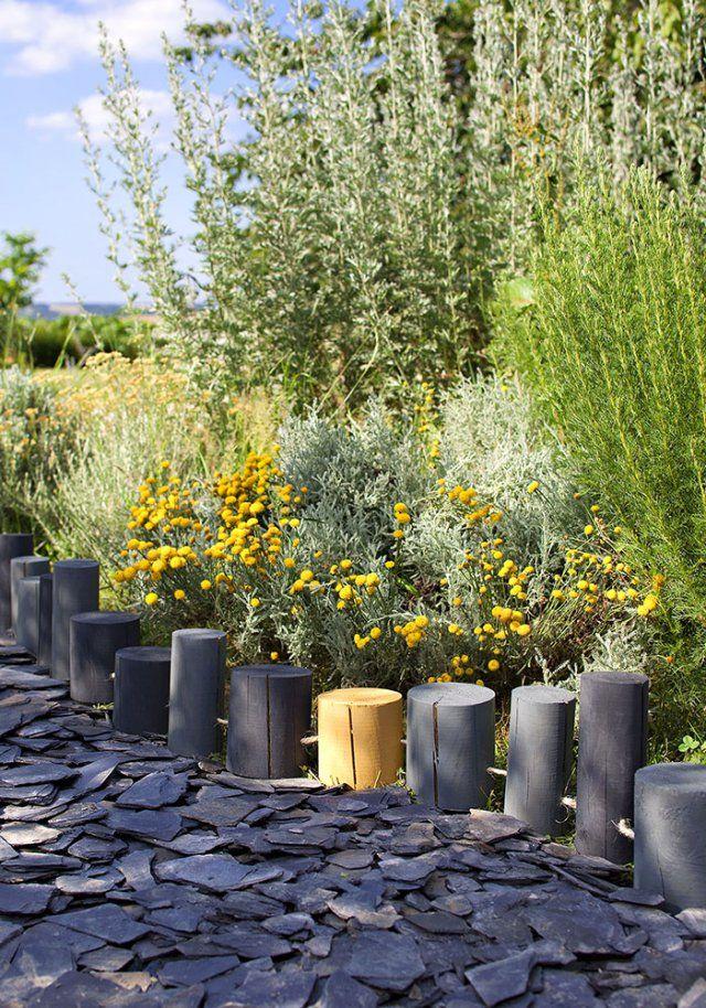10 diy pour fabriquer une cl ture de jardin cl tures de jardin rondin et en bois. Black Bedroom Furniture Sets. Home Design Ideas