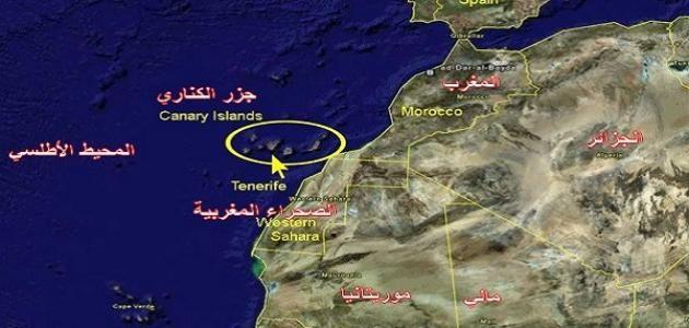 أين تقع جزر الكناري على الخريطة موسوعة موضوع Canary Islands Tenerife Tenerife Canary Islands