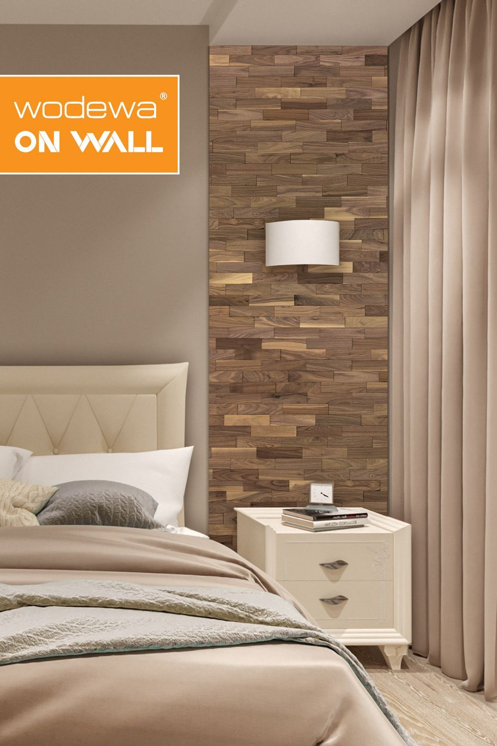 Wallcovering Wood Inside I I Bedroom In 2020 Home Room Design Interior Decorating Living Room Romantic Bedroom Decor