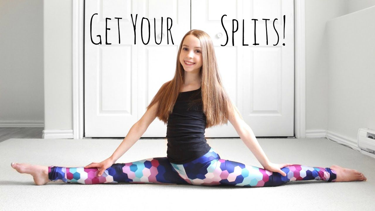 Girls doing splits images, stock photos vectors