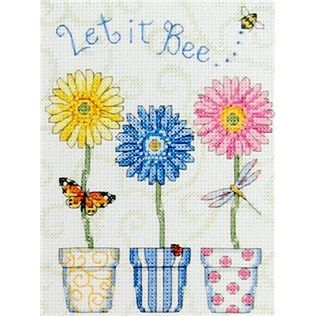 Dimensions Let It Bee...Counted Cross Stitch Kit   Shop Hobby Lobby ... I'd really like this sans the words.