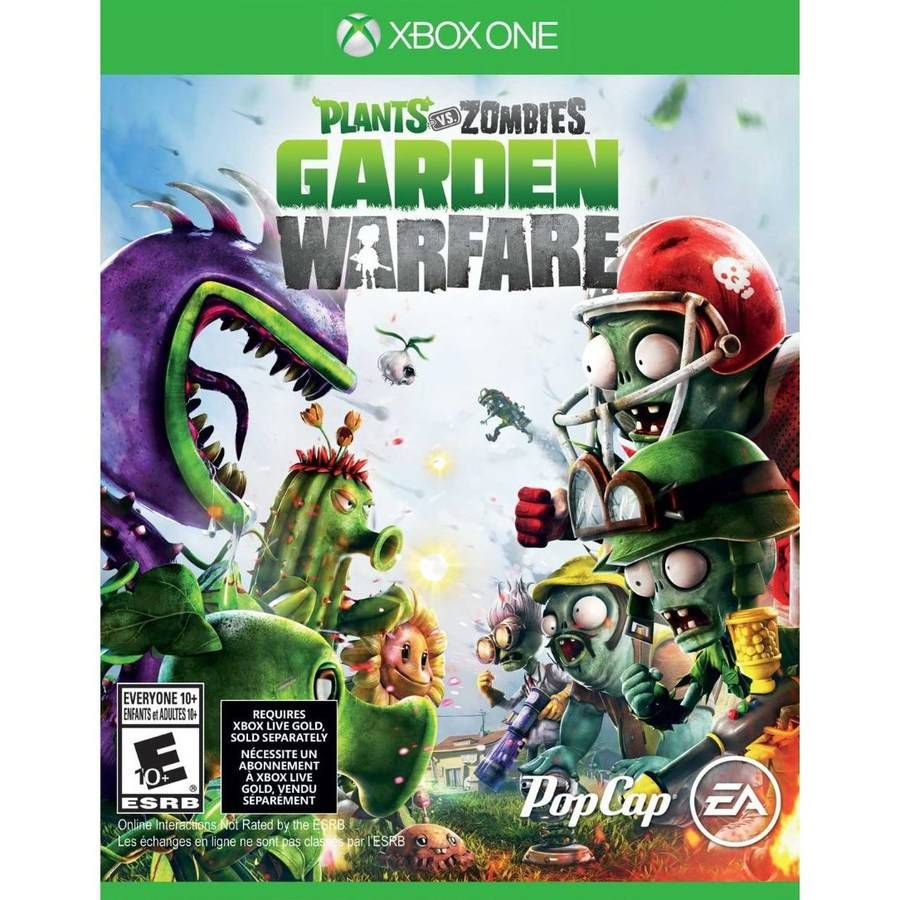 Free Xbox One Game > Target Plant zombie, Plants vs