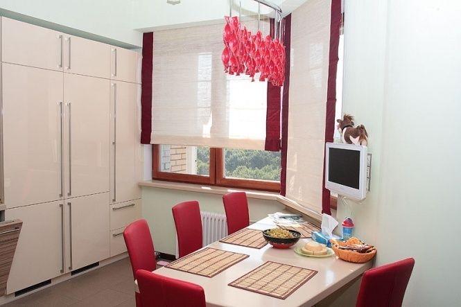10 видов кухонных штор для кухни (с изображениями) | Шторы ...