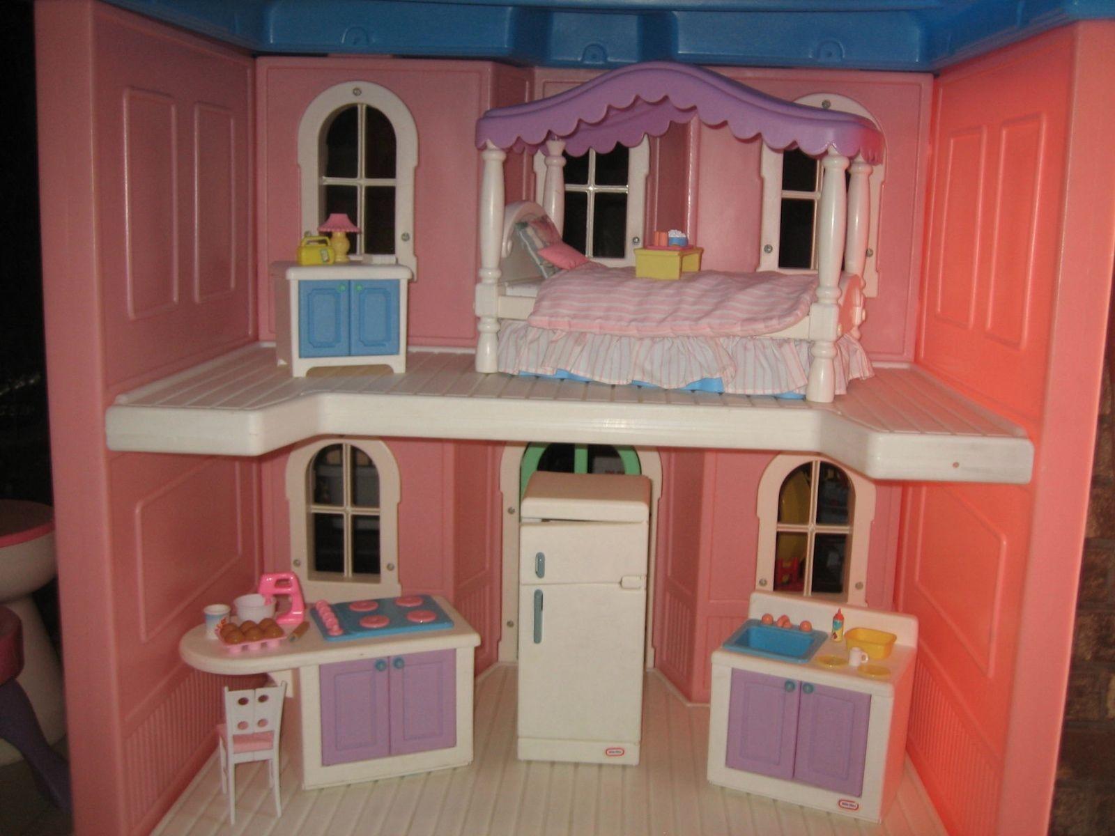 Little Tikes Barbie House 1990s Novocom Top