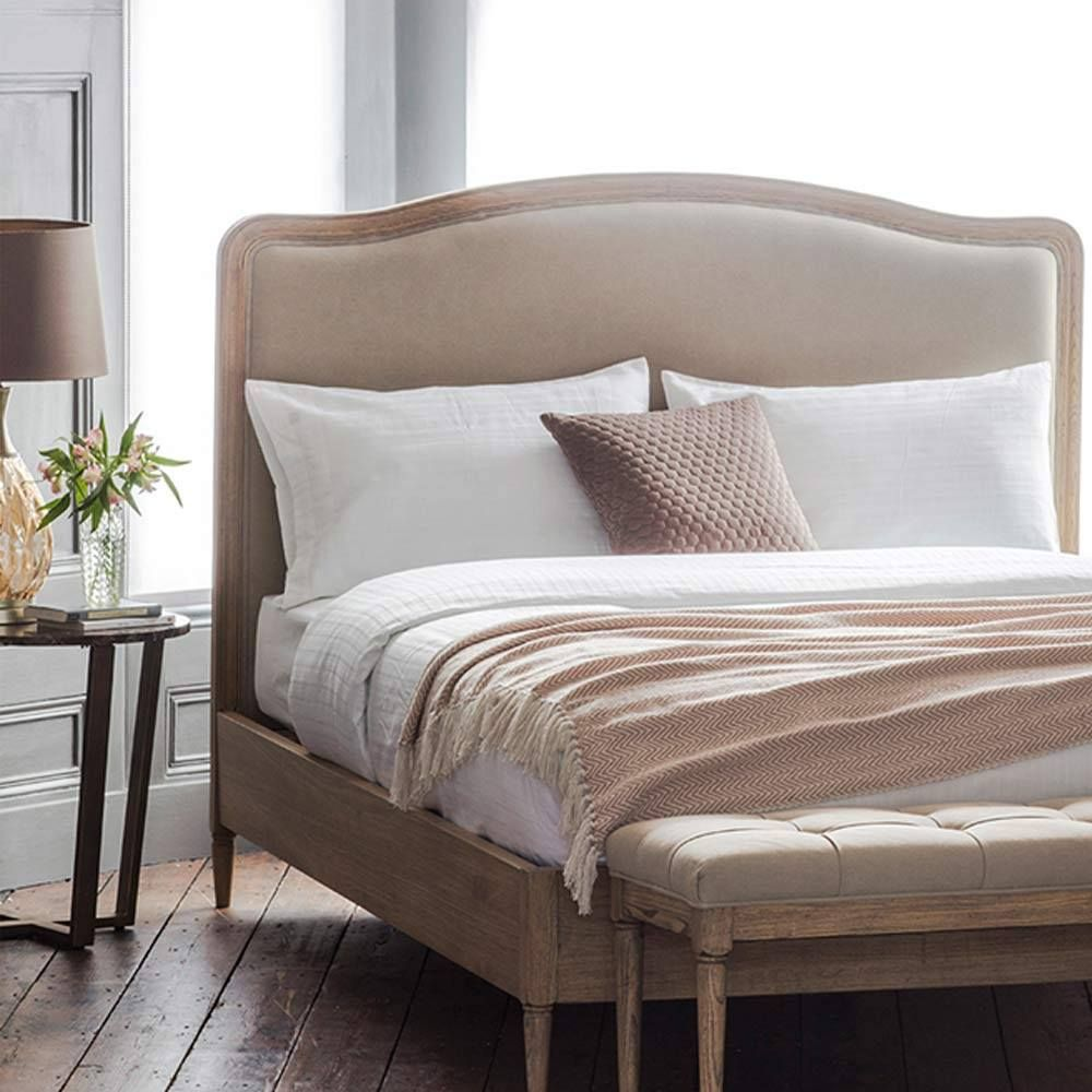 Mooring Manor Upholstered Bed Classic French Bed