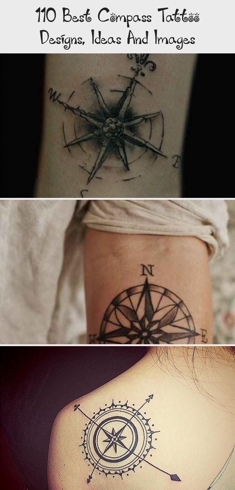 110 Best Compass Tattoo Designs Ideas And Images Tattoos And Body Art In 2020 Compass Tattoo Simple Compass Tattoo Compass And Map Tattoo