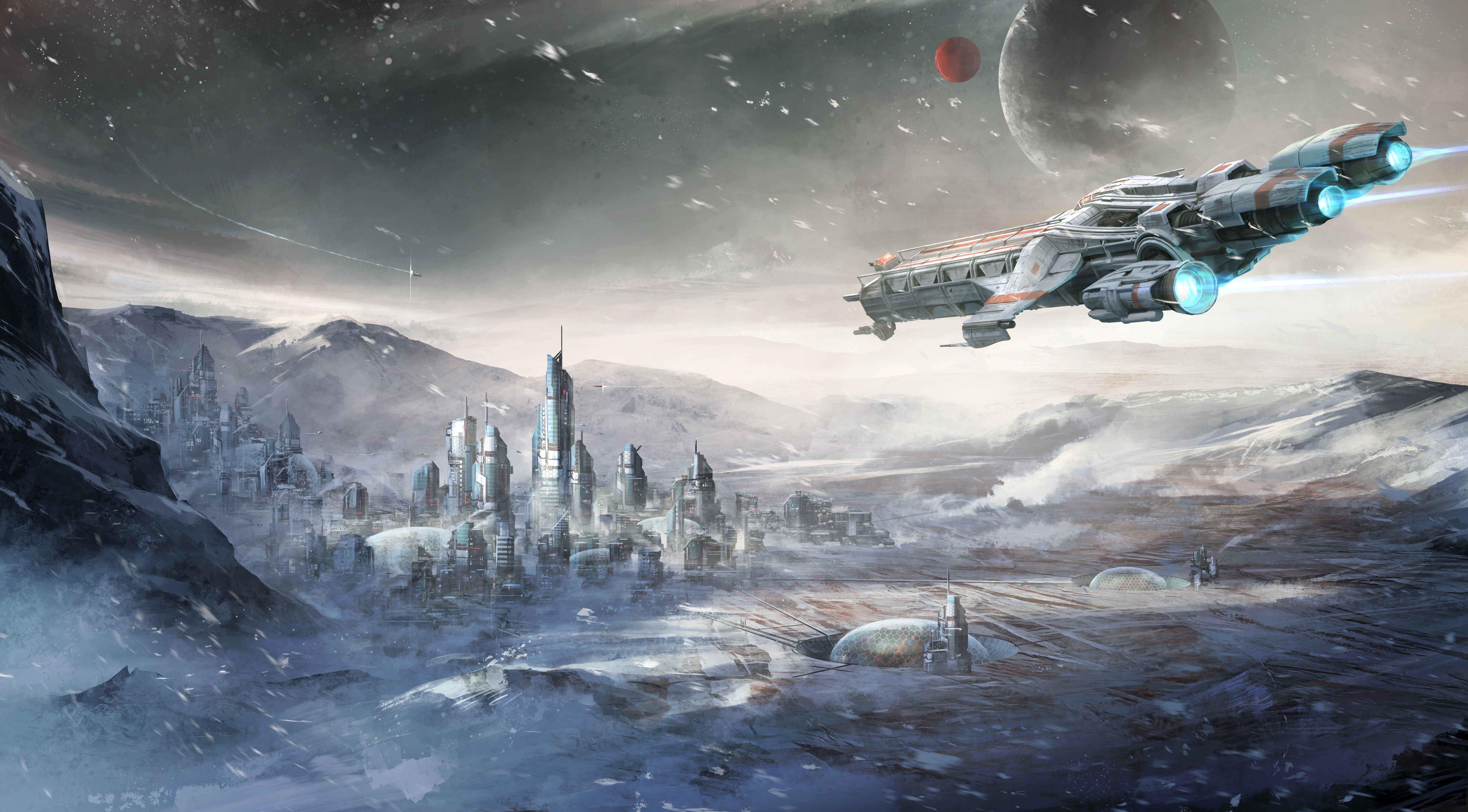Star Citizen Wallpaper Star Citizen Concept Art Star Wars Spaceships