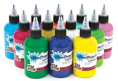 Starbrite Tattoo Ink 12 Color Solar Set 12oz You Can Get Additional Details At The Image Link Note It Is Affiliate Link To Amazon Desain