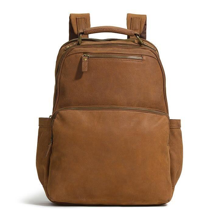 G.H. BASS   CO. SEBASTIAN BACKPACK.  g.h.bassco.  bags  leather  polyester   backpacks   4028dd6f40