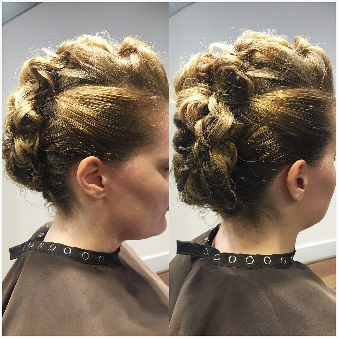 Mohawk updo style mohawk formalstyle hairstyles created by