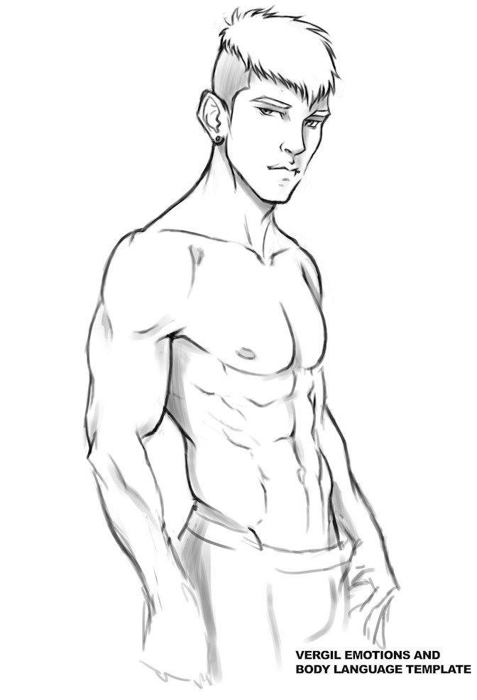 Sexy male body language