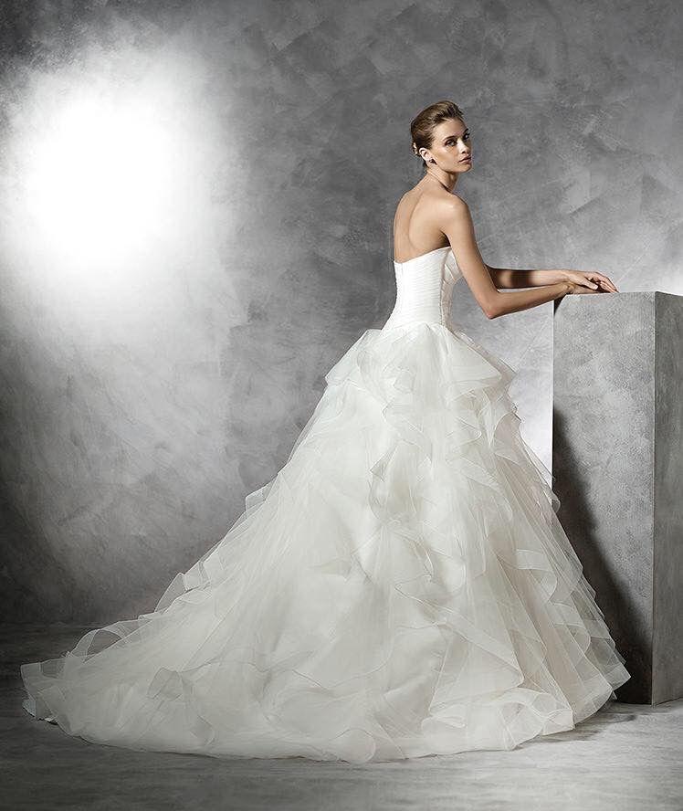 disponible vestido de novia pronovias referencia belia con cinturón