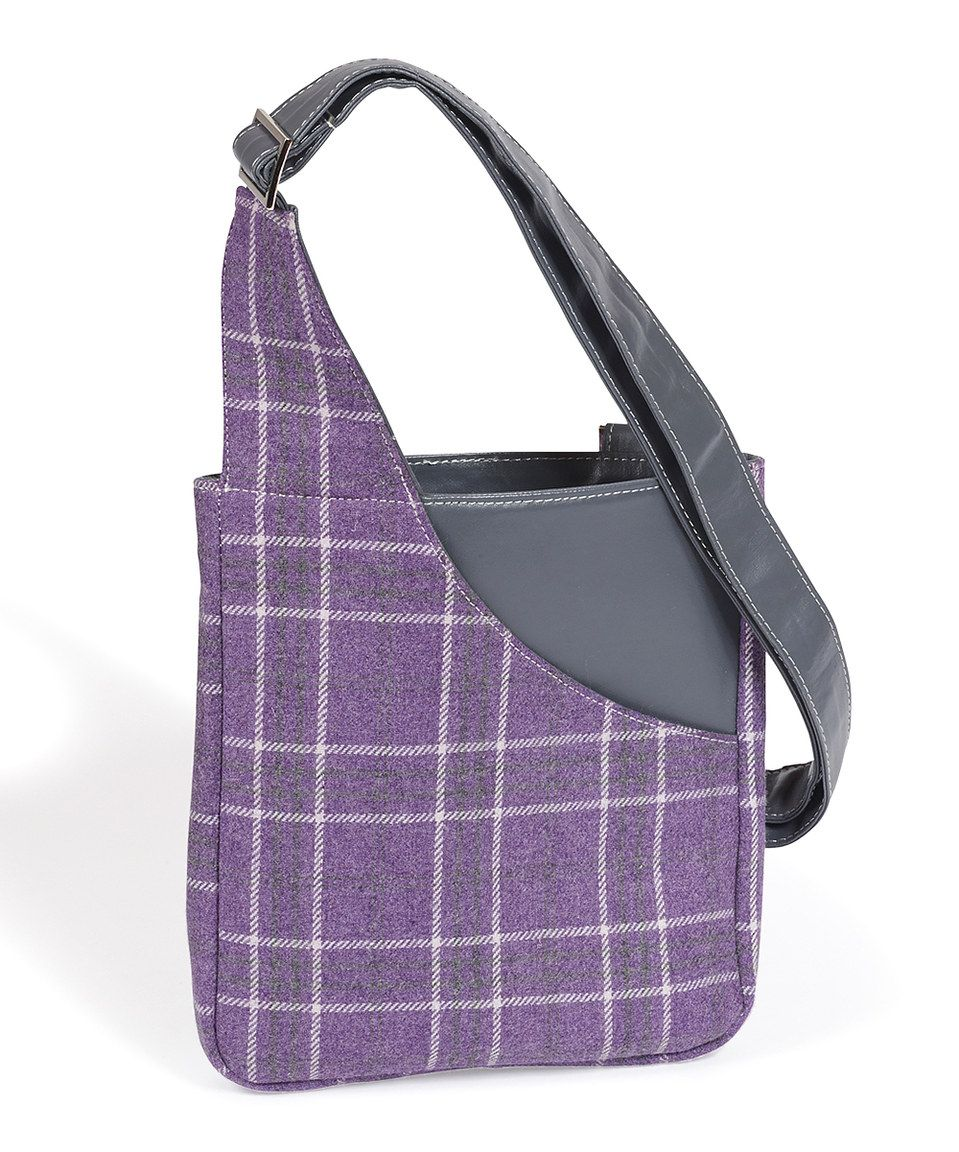 Love this Quintessential: Purple Braemar Cross-body Bag by Quintessential on #zulily! #zulilyfinds