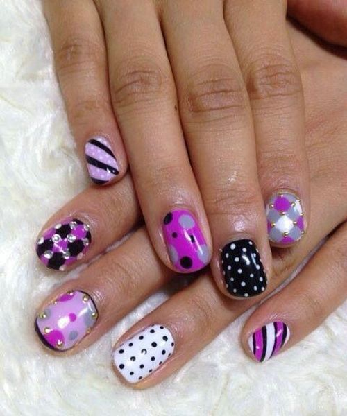 purple nails designs trends 2014 all about nails and nail art