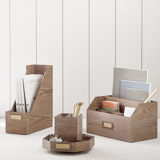 Pin By Melissa Cholewa On For The Office In 2020 Desk Accessories Cool Desk Accessories Wooden Desk