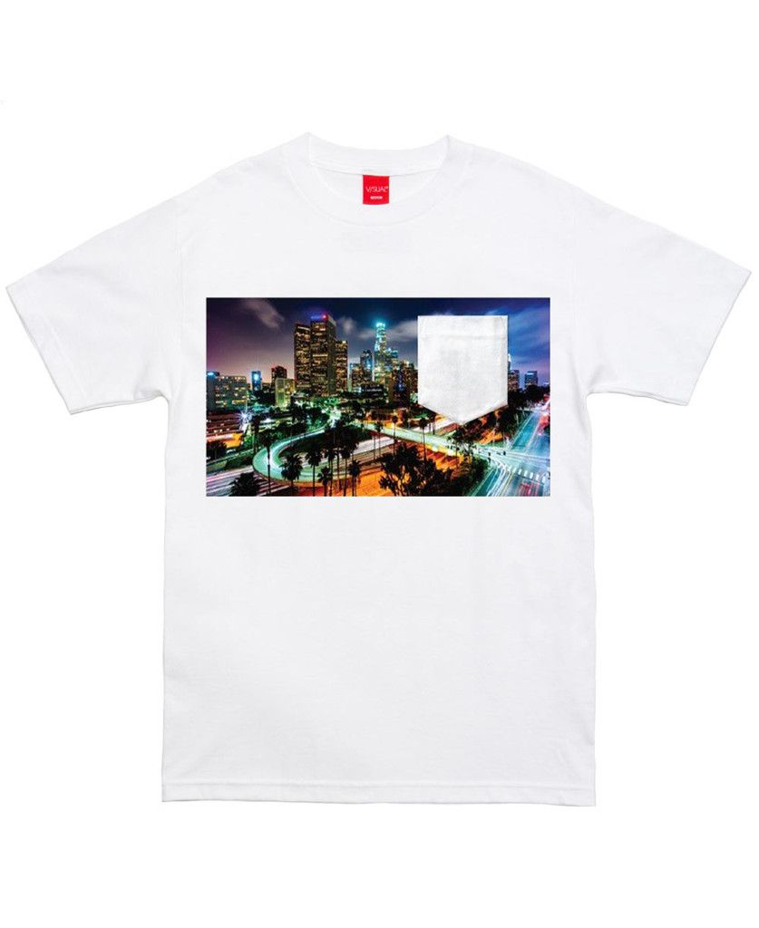 Visual by Van Styles - Downtown Pocket T-Shirt (White)