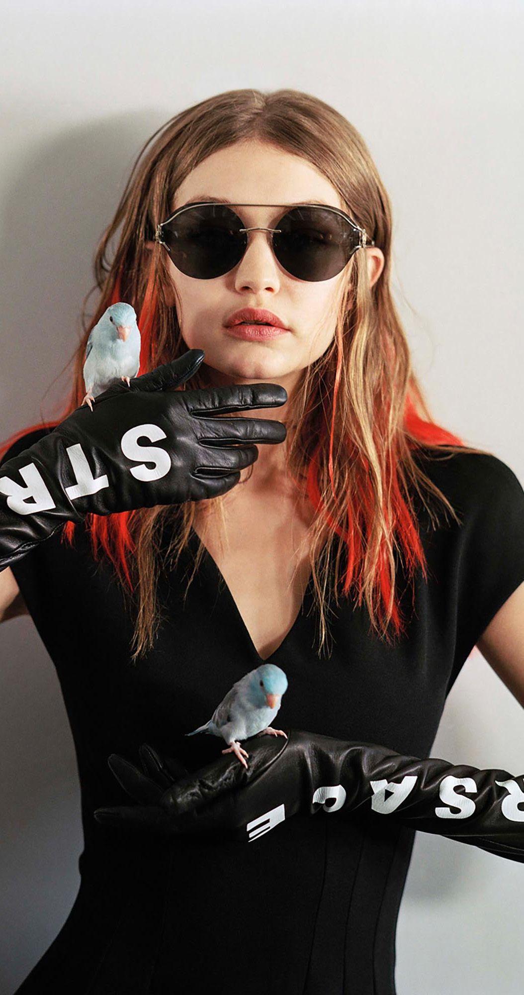6ca31ad8a2e Gigi Hadid for Versace sunglasses