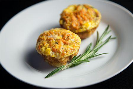 Rosemary Sweet Potato Egg Muffin - Powered by @ultimaterecipe