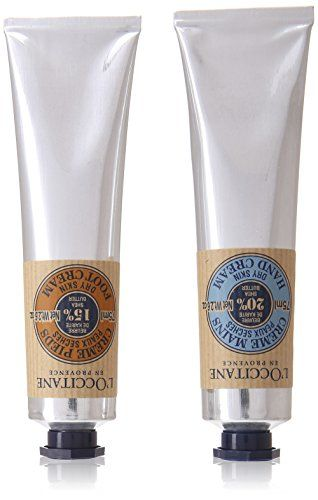 Loccitane Shea Butter Hand and Foot Kit for Unisex Hand Cream Foot Cream >>> Want to know more, click on the image.