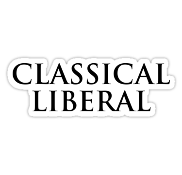 classical liberal sticker anonymous