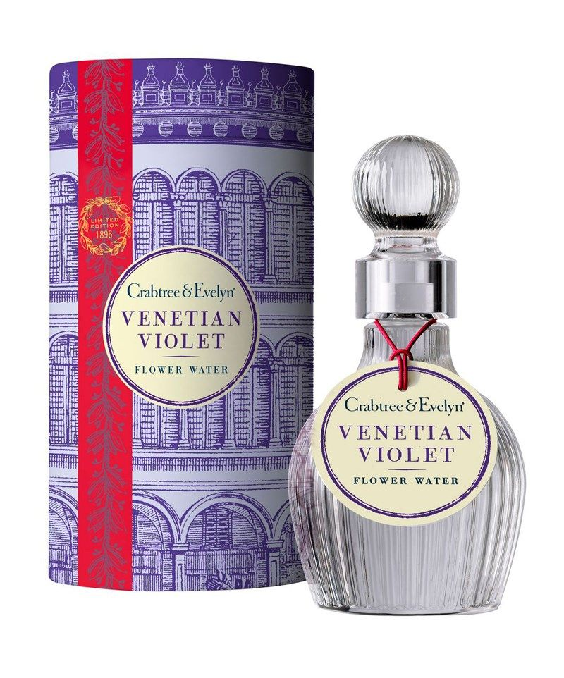 Venetian Violet Eau florale 100ml | Crabtree & Evelyn