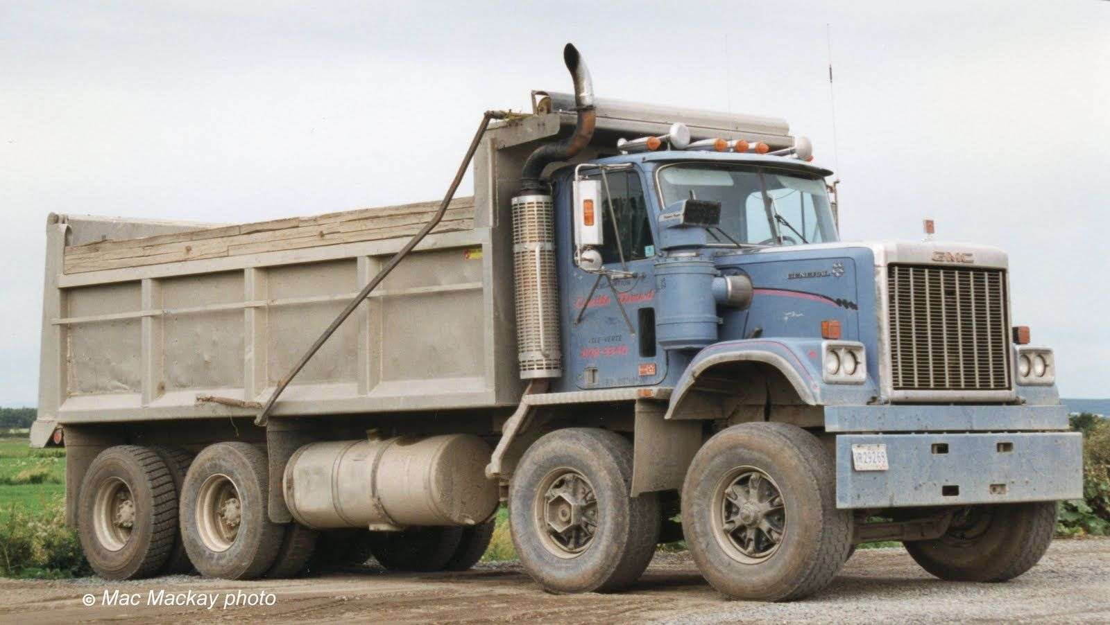 Gmc General Duel Steer Dump Truck Trucks Dump Trucks Built Truck