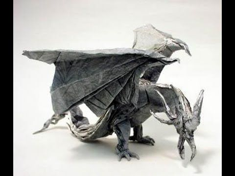 26 Non-Traditional but Still Awesome Origami Dragons | 360x480