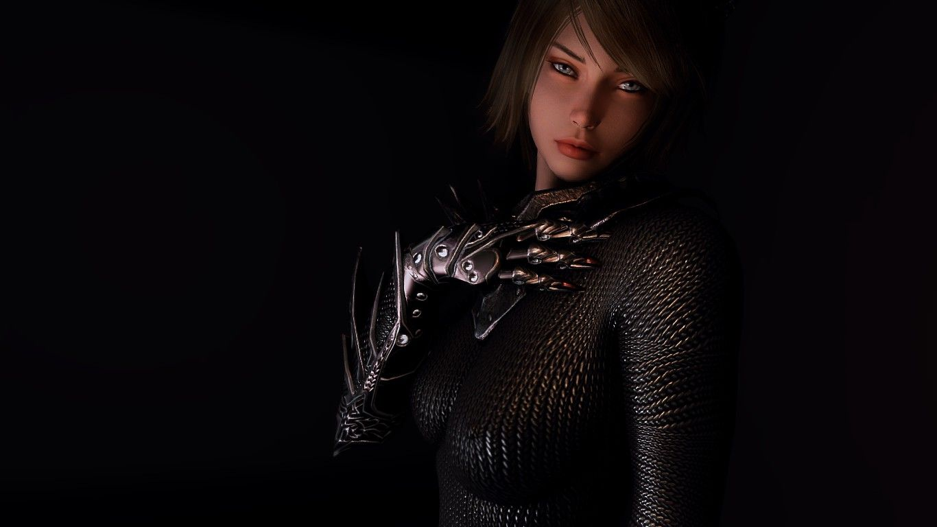 Daedric Chainmail - CBBE SSE Bodyslide at Skyrim Special Edition