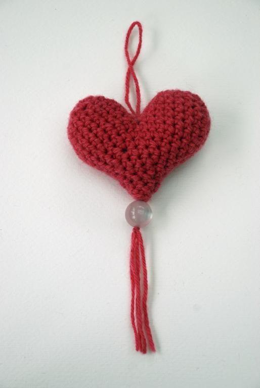 Crochet Heart Decoration | Amigurumi | Pinterest | Tejidos
