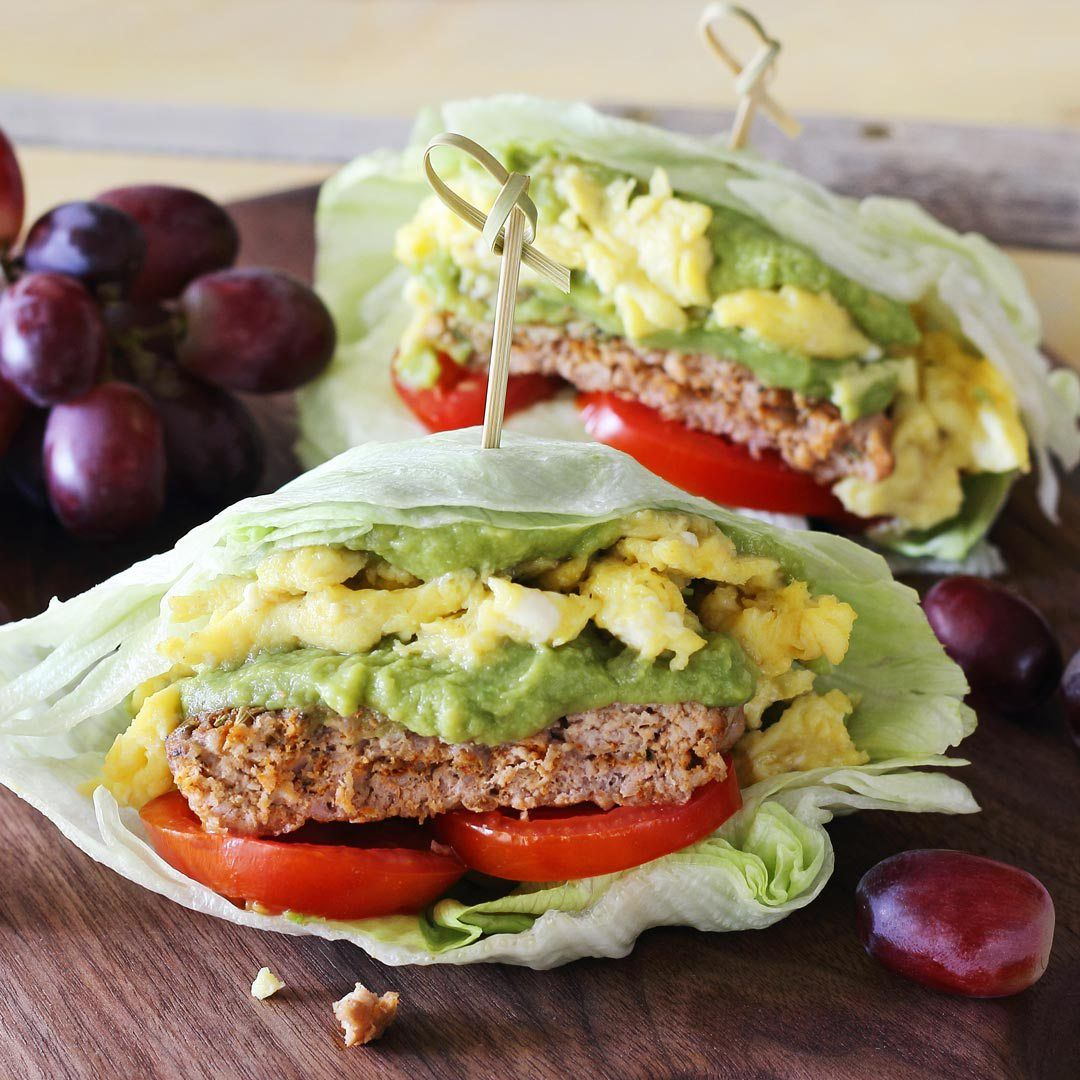 30 Sizzling Bacon Breakfast Recipes: Paleo Sausage, Egg & Guacamole Breakfast Wrap