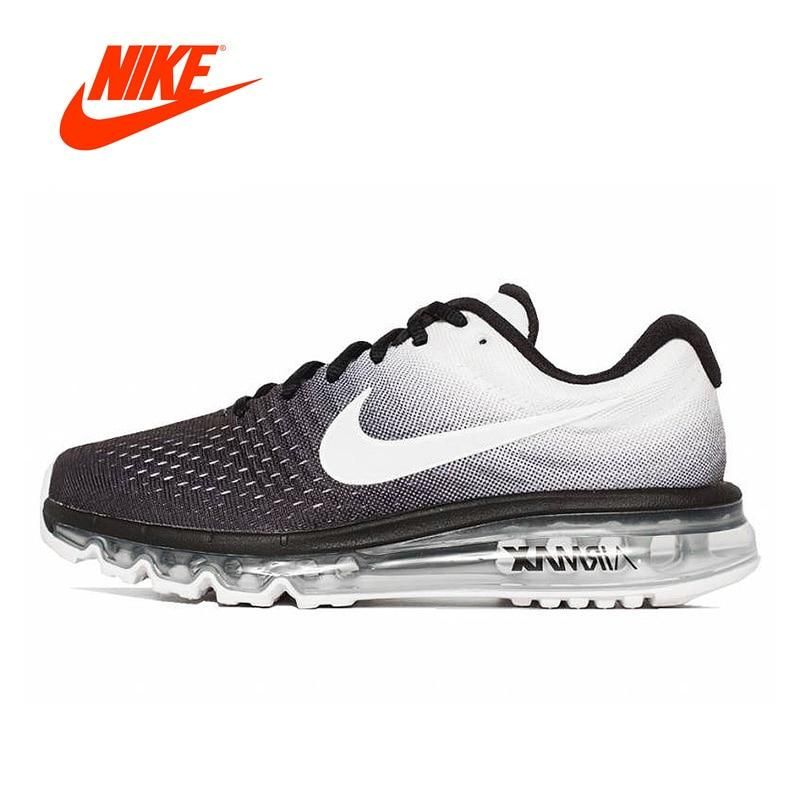 Men's Nike Air Max 2017 Flyknit Breathable Fitness Running