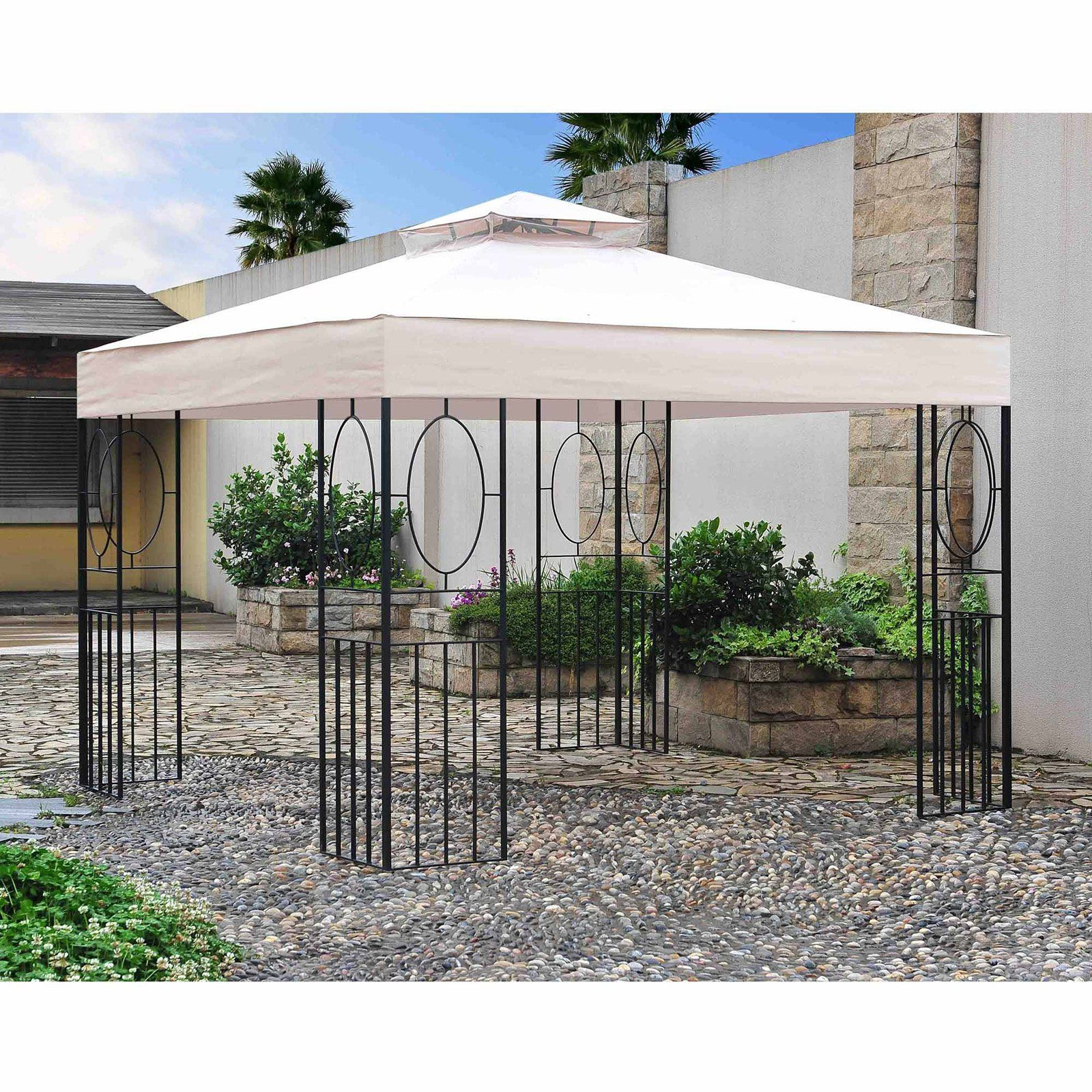 Sunjoy 10 x 10 ft. Easy Setup Gazebo - 110101035 | Products | Pinterest